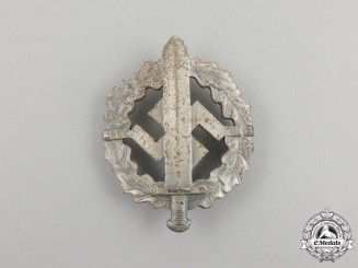 Germany. A Silver Grade SA Sports Badge by W. Redo