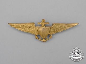 A United States Navy/United States Marine Corps (USN/USMC) Pilot Badge, c. 1930s