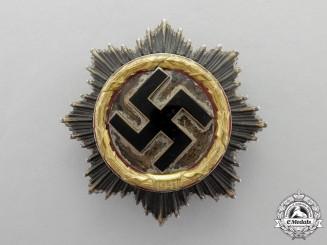 A Deutsches Kreuz in Gold by Gebrüder Godet & Co; Light Version