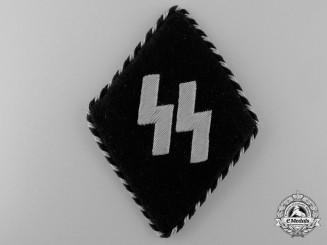 A Germanic SS EM/NCO's Sleeve Diamond with SS RZM Tag