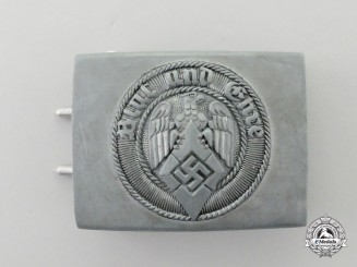 A HJ Member's Standard Issue Belt Buckle by Richard Sieper & Söhne; Circa 1941