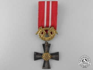A Finnish Order of the Cross of Liberty; 3rd Class Gold Cross 1941