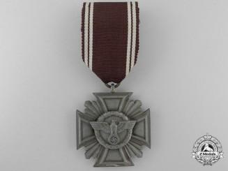 An NSDAP Faithful Service Decoration; 3rd Class for Ten Years' Service