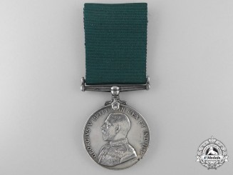 A Colonial Auxiliary Forces Long Service Medal, Brigadier-General William B.M. King, C.M.G., D.S.O