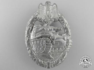 A Silver Grade Tank Badge