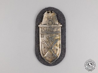 An Unissued Luftwaffe Issue Narvik Campaign Shield;