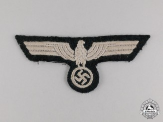 A Second War German Wehrmacht Heer (Army) EM/NCO's Breast Eagle