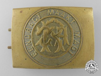 A Rare Republic Zuid Afrika Belt Buckle 1925