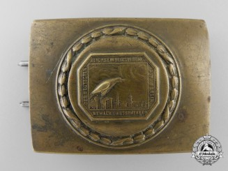 A German Night Watchman's Guild Belt Buckle; Published Example