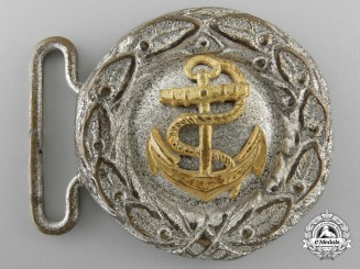 A Third Reich Period German Kreigsmarine Belt Buckle