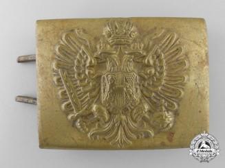 A First War Austrian Army Belt Buckle