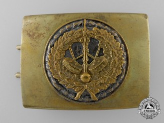 A Third Reich Period Civilian Band Member's Belt Buckle