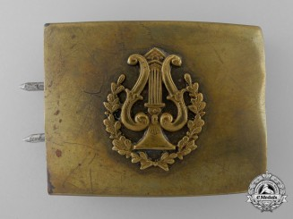 A Third Reich Period Civilian Band Member's Belt Buckle; Published Example