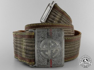 A German Gymnastics Federation (Deutsches Turnerbund) Belt with Buckle