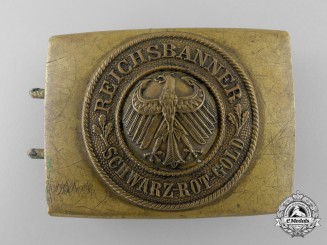 A German National Banner Youth  Belt Buckle