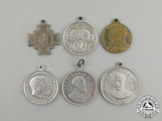 Six Imperial German Commemorative Medals and Decorations