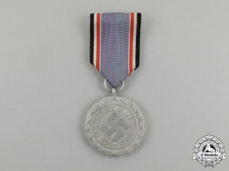 "An Air Raid Defence ""Luftschutz"" Medal; Second Class Light Version"