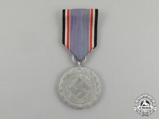 """An Air Raid Defence """"Luftschutz"""" Medal; Second Class Light Version"""