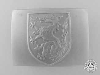 A Steyr Home Guard (Freikorps Heimwehr Steiermark) Belt Buckle; Published Example