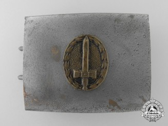 A Young Stahlhelm League (Jungstahlhelm) Belt Buckle