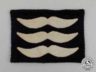 A Second War Luftwaffe Sergeant Rank Sleeve Patch