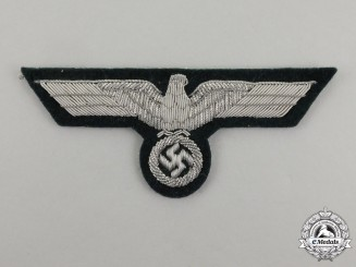An Absolutely Mint Wehrmacht Heer (Army) Officer's Bullion Tunic Eagle
