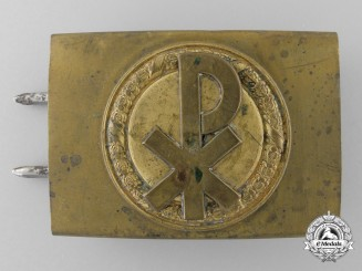 Germany, Wehrmacht. A Christian Organisation Belt Buckle