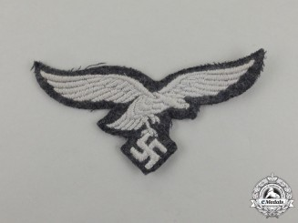 A Mint and Unissued Second War German Luftwaffe EM/NCO's Breast Eagle