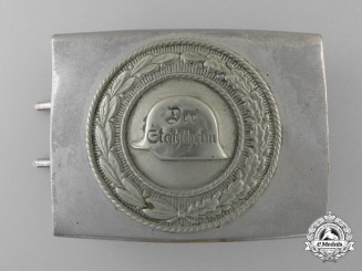 A Stahlhelm Veteran's Belt Buckle; Published Example
