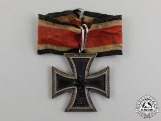 A Battle Worn Iron Cross 1939 Second Class Field Converted to a Knight's Cross