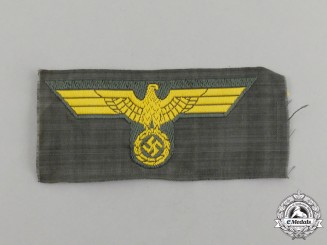 A Mint and Unissued Second War Kriegsmarine Coastal Artillery Overseas Cap Eagle