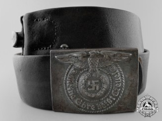 An SS Enlisted Belt with Buckle by Robert C. Dold