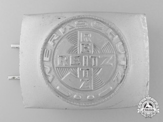 A Rare E. Reitz Werkschutz of Antwerp Factory Guard's Belt Buckle