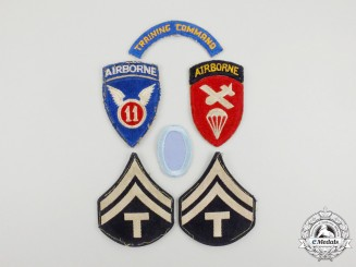 A Lot of Six Second War American Army Patches