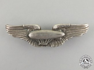 An Early United States Army Air Force Airship Pilot Badge