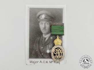 Canada, Dominion. A Colonial Auxiliary Forces Officers' Decoration to Major MacKay