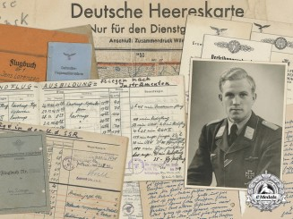 An Extensive Luftwaffe Combat Document, Photograph & Flugbuch Grouping