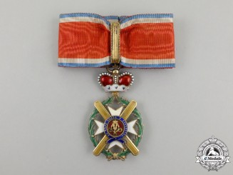 Serbia, Kingdom. An Order of Takovo, Commander's Cross, by Rothe and Neffe, c.1895