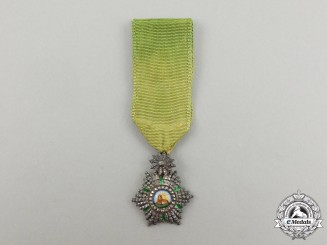 A Miniature Iranian Order of the Lion and Sun
