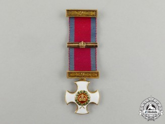 A Miniature British Distinguished Service Order in Gold