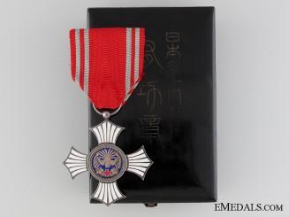Japanese Red Cross Merit Award, Silver Grade