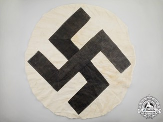 Germany. A Large Third Reich Period Flag Roundel