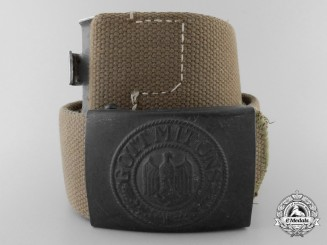 An Afrika Korps Army (Heer) Belt with Buckle