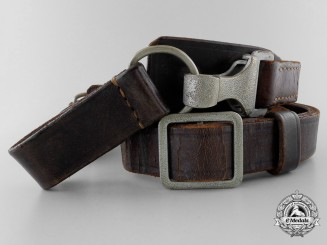 A Second War German Shoulder Strap