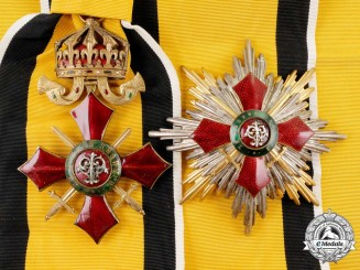A Bulgarian Order of Military Merit; Grand Cross Set