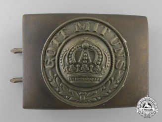 A German Imperial Army (Heer) Belt Buckle