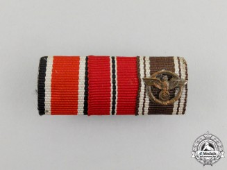 A Second War German EK & NSDAP Ribbon Bar