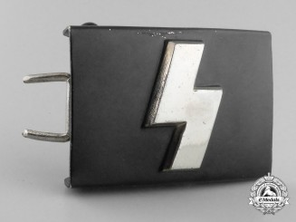 A Reduced Size German Youth (Deutsches Jungvolk) Belt Buckle; Published Example
