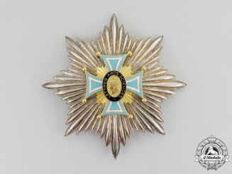 France, Republic. An Order of the Academic Society of Letters, Arts and Sciences, Breast Star, c.1960