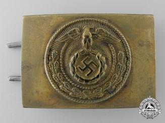 An NSDAP Youth (NSDAP Jugend) Belt Buckle